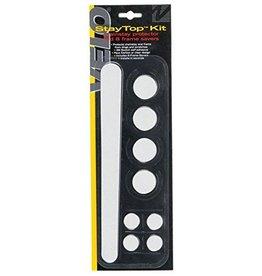 Velo Velo StayTop Kit Chainstay & 8 Frame Savers Clear