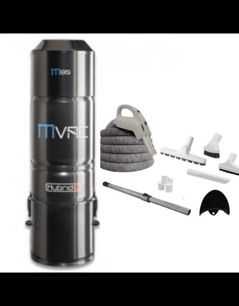 MVac Mvac M80 - 35' LV Kit with Cover - Promo - Installed