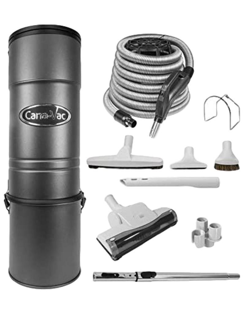 Cana-Vac Cana-Vac C725 with 35' Low Voltage Kit - INSTALLED