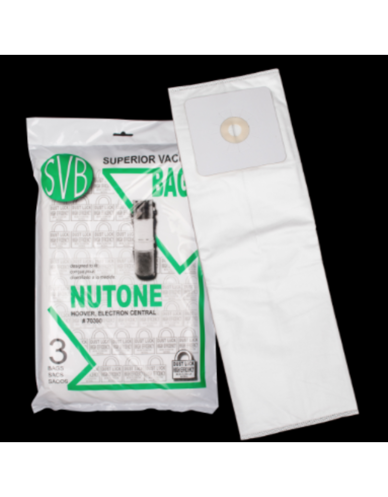 Nutone Nutone Broan Electron Central Vac Bags (3 Pack)
