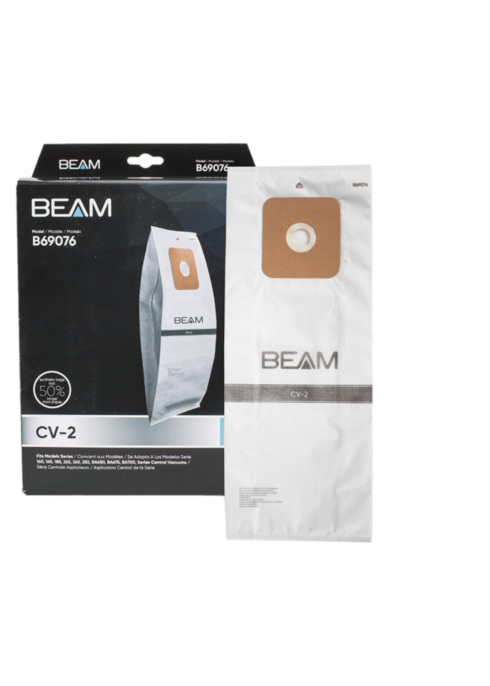 Electrolux Beam Central Vacuum Bags - CV-2