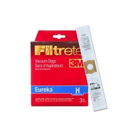 Eureka Eureka Paper Bag Type H (3 Pack) and (3 Filters)
