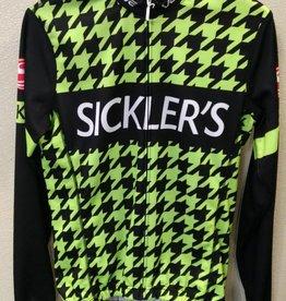 Verge Sickler's Green Men's Jersey Sport Cut LS Extra Large
