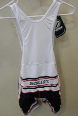 V-Gear Sickler's White Men's Bib Short size 2XL