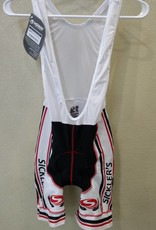Verge Sickler's White Men's Bib Short size XLarge