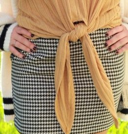 HIGHWAIST HOUNDSTOOTH