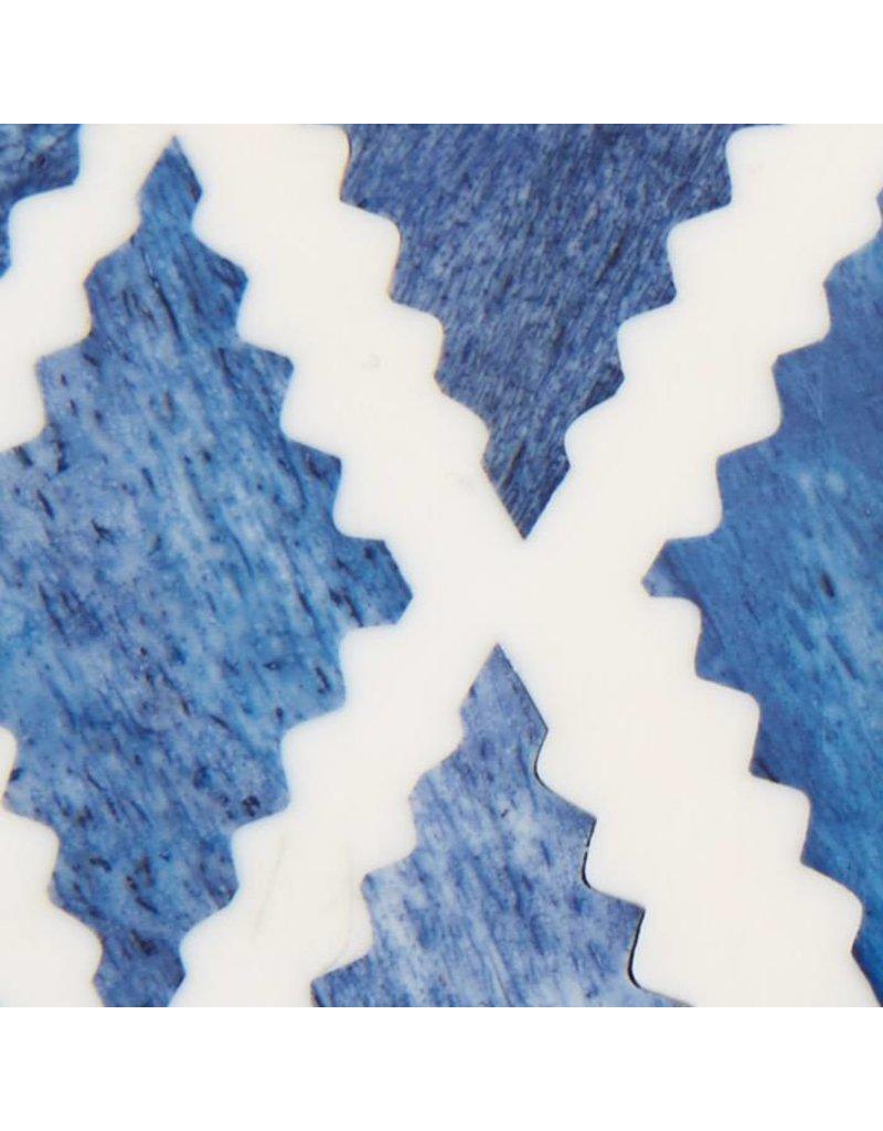 TOZAI Blue and White Moderne Frame 4x6 A