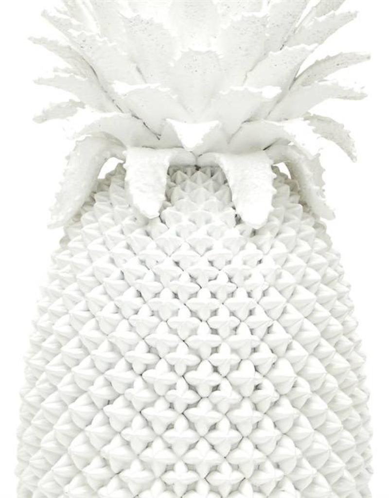 TOZAI White Pineapple Vase