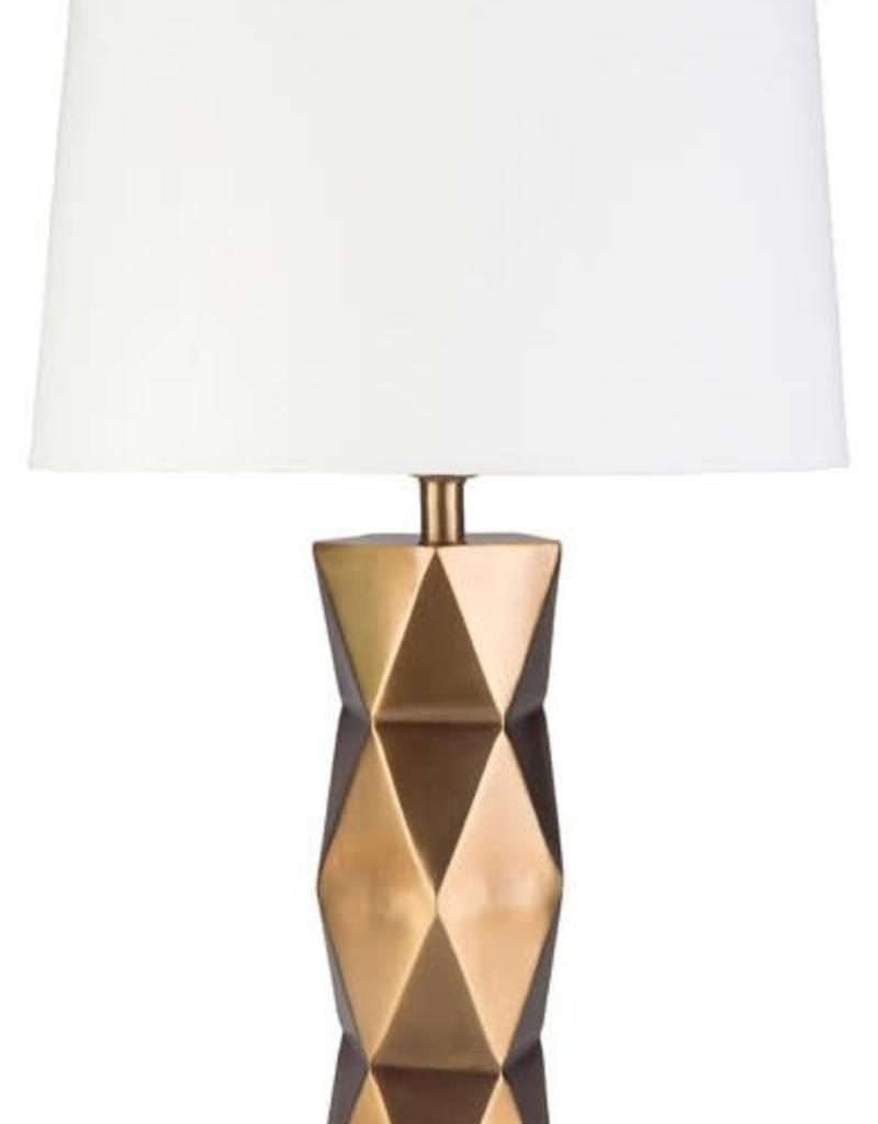 Surya Odessa Gold Lamp