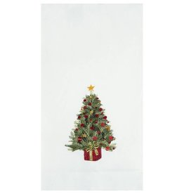 C&F Enterprises Decorated Christmas Tree Hand Towel