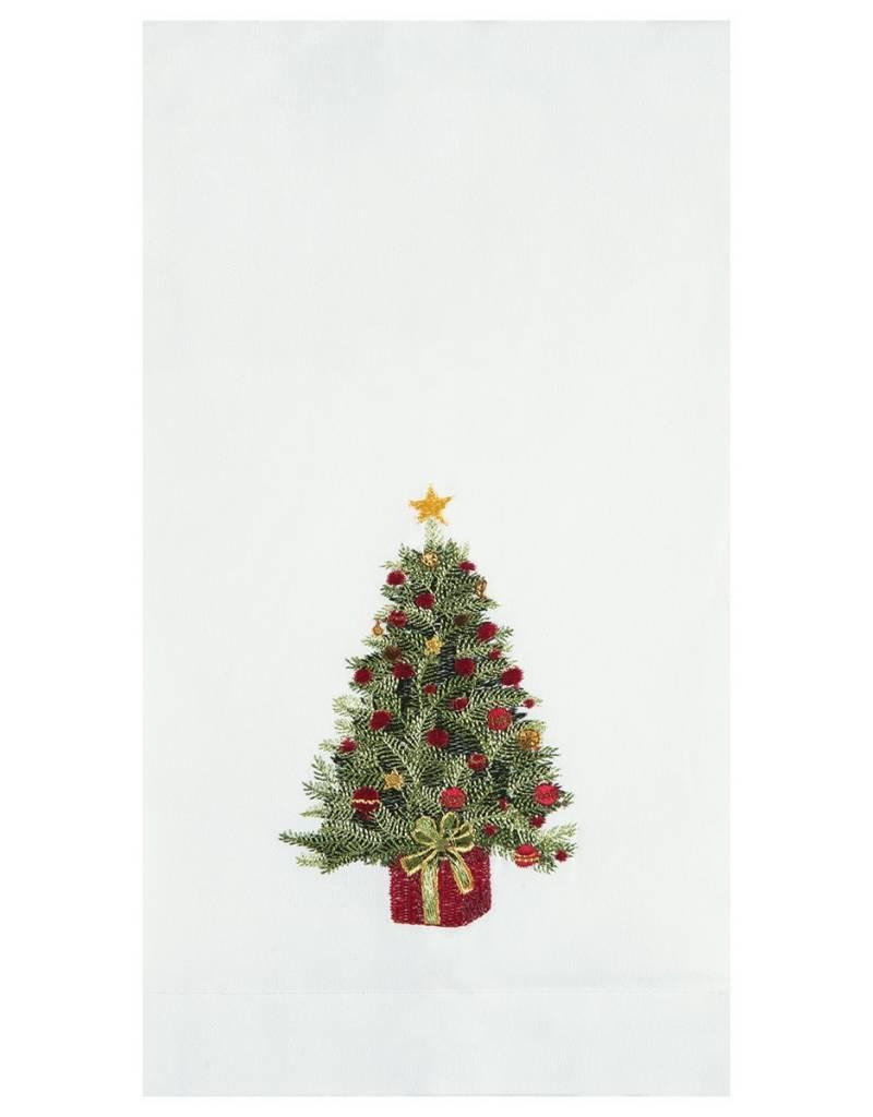C&F Enterprises Decorated Christmas Tree Hand Towel