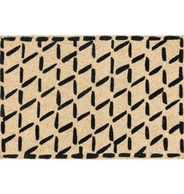 Classic Home Classic Home- Brushstroke Diamond Outdoor rug