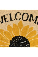 Classic Home Classic Home- Welcome Sunflower Rug 24x36