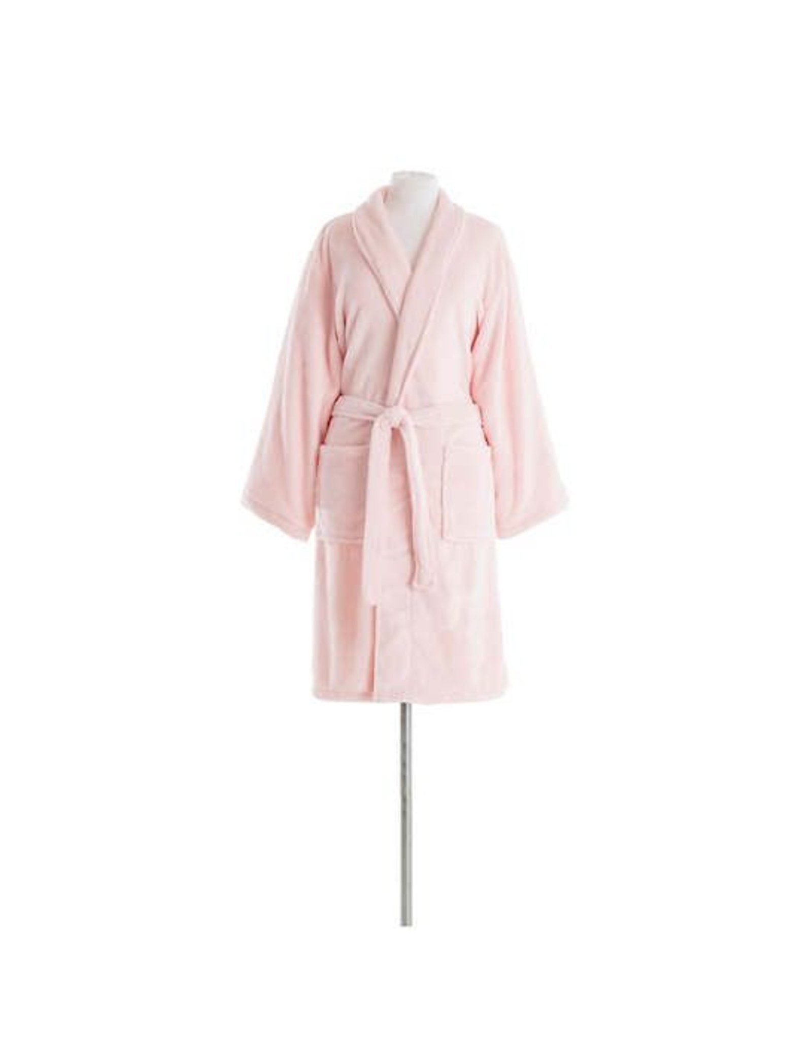 Pine Cone Hill Sheepy Fleece Pale Rose Shortie Robe