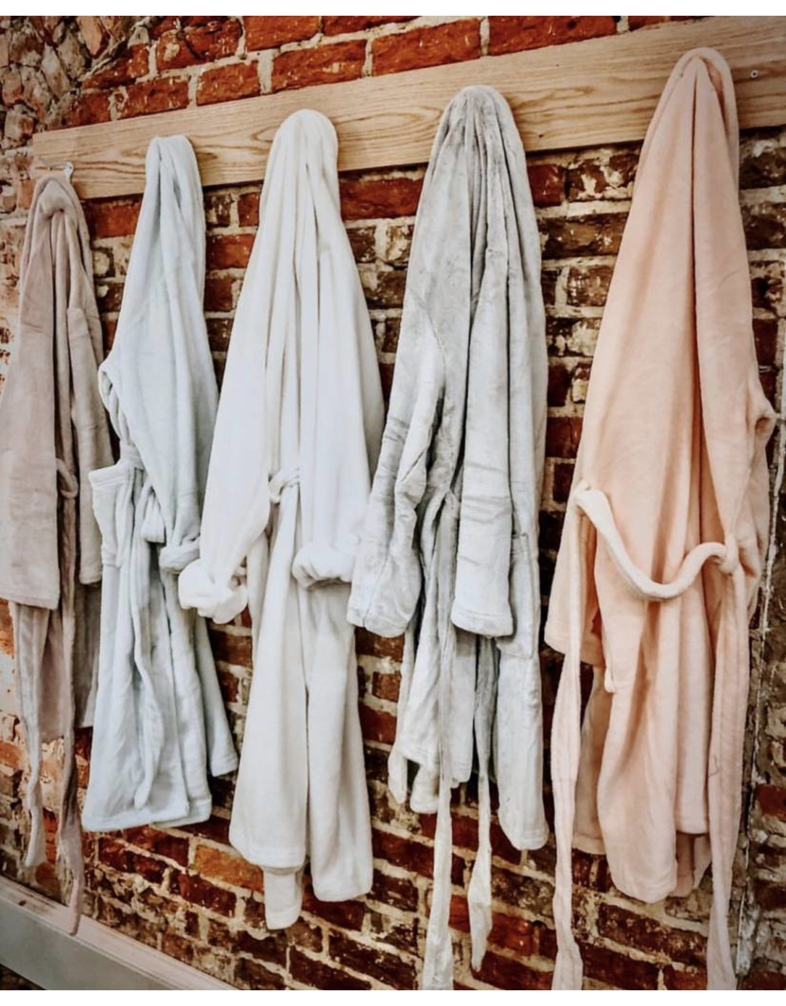 Pine Cone Hill Sheepy Fleece White Shortie Robe