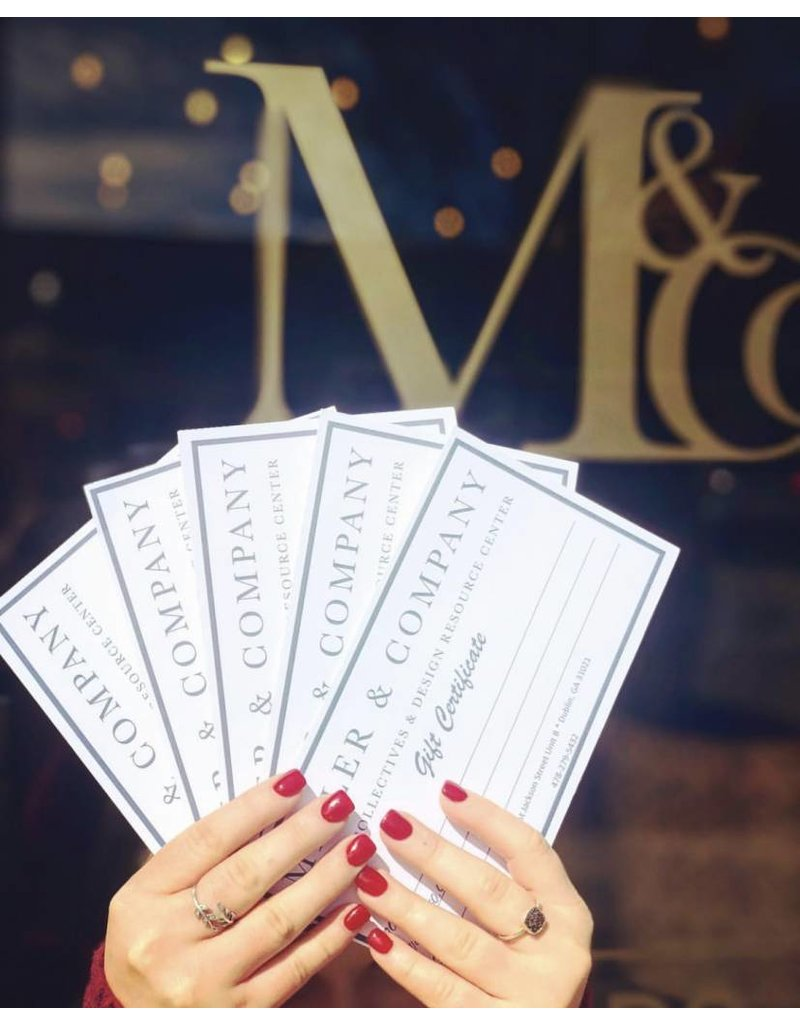 Gift Certificates $75
