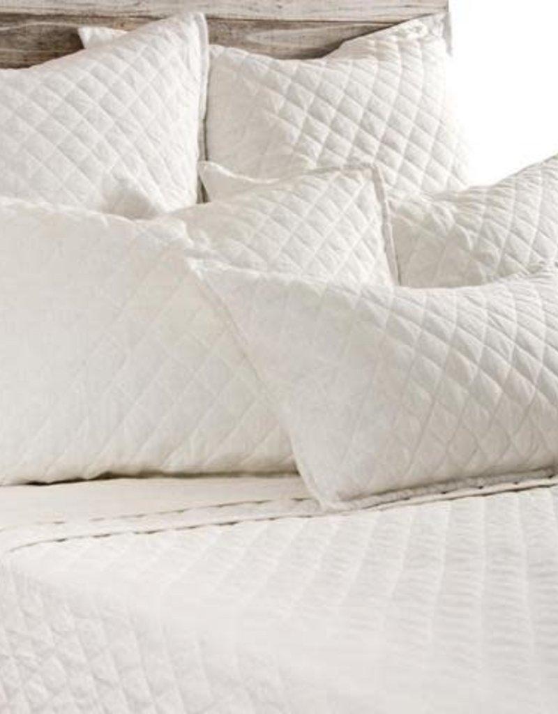 Pom Pom at home Hampton- White - Big Pillow W/ insert. 28x36