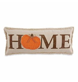MudPie Lumbar Pumpkin Pillow