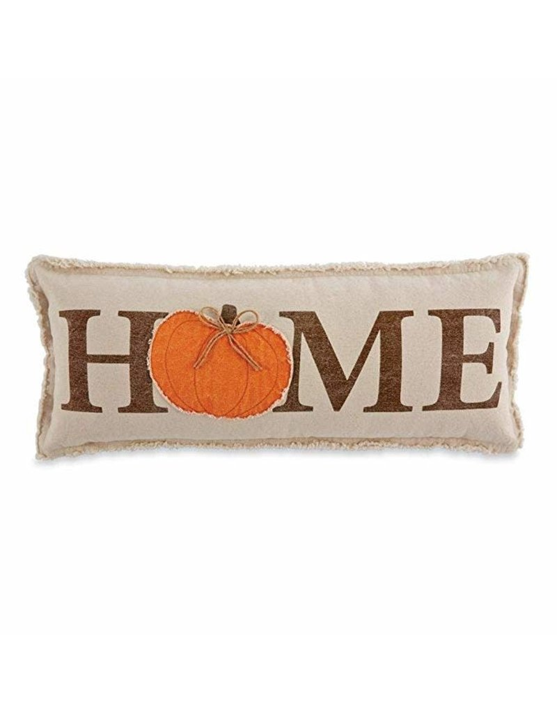 MudPie Lumbar Pumpkin Pillow