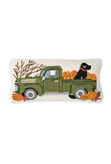 MudPie Fall Dog Wool Pillow
