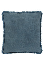 Surya Velvet Pillow 18x18 - Blue