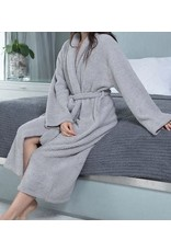 Barefoot Dreams Cozychic Robe - Dove Gray Small