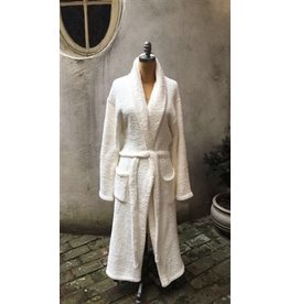 Barefoot Dreams Cozychic Robe - Pearl Large