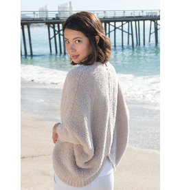 Barefoot Dreams Cozychic Shrug- Oyster Large