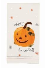 MudPie Pumpkin Sequin Hand Towel