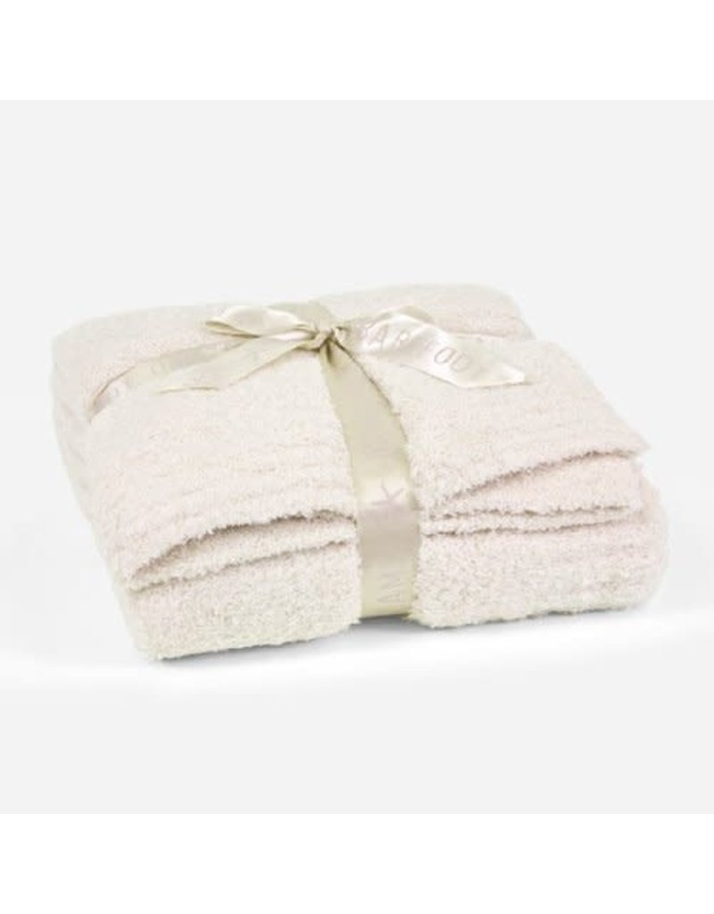 Barefoot Dreams Cozy Chic Throw - Cream