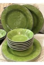 Veranda Melamine Bowls-Green