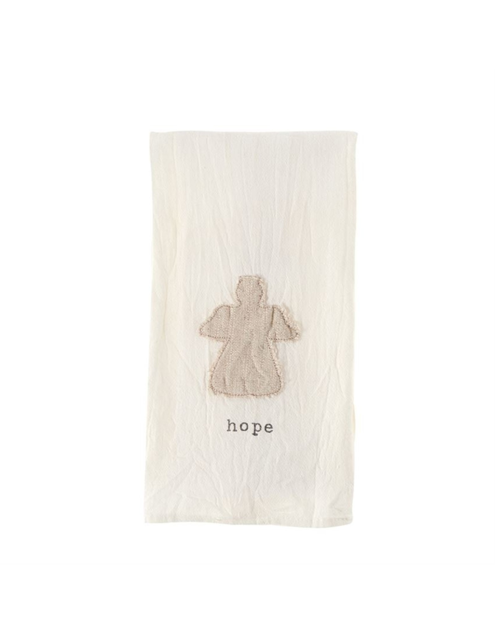 MudPie Hope Angel Cotton Towel