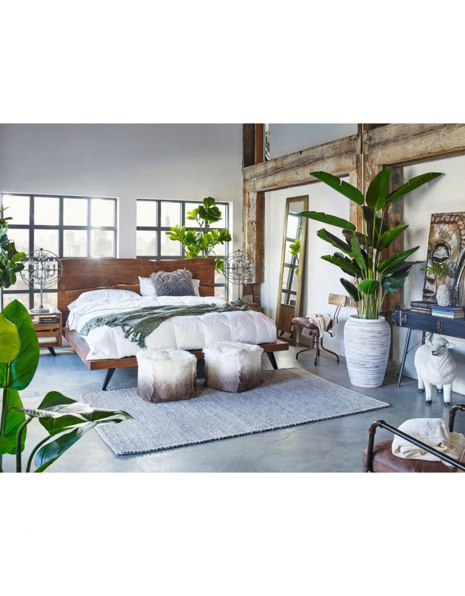 Moe's Home Collection Madagascar Platform King Bed