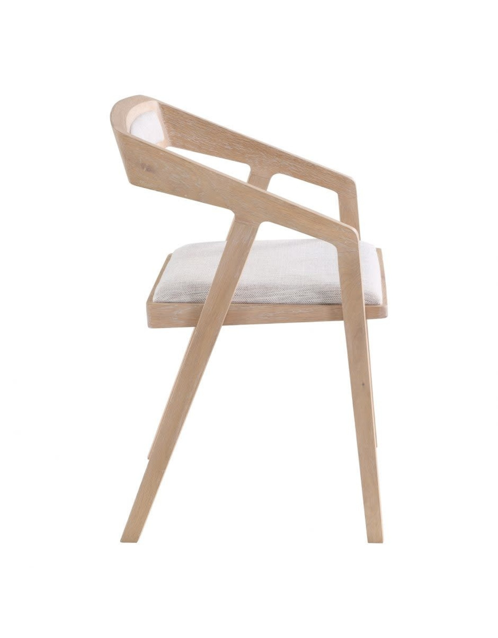 Moe's Home Collection Padma Oak Arm Chair