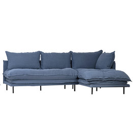 dovetail Carissa L Shaped Sofa