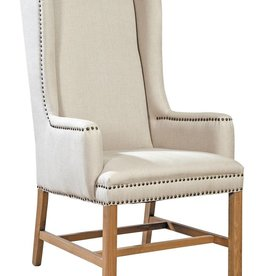 Furniture Classics Linen Host Chair