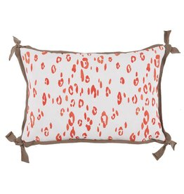 Lacefield Leopard Melon Pillow
