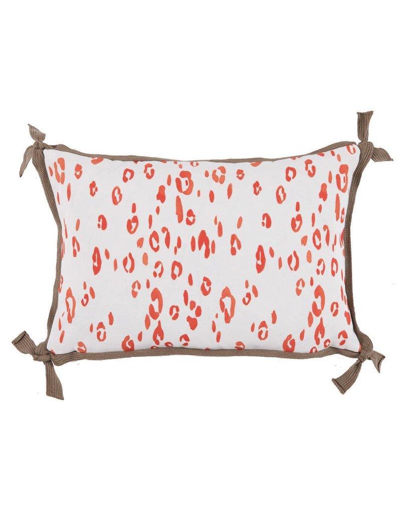 Lacefield Leopard Melon Pillow