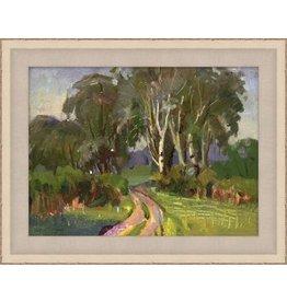 Wendover Art Green Landscape