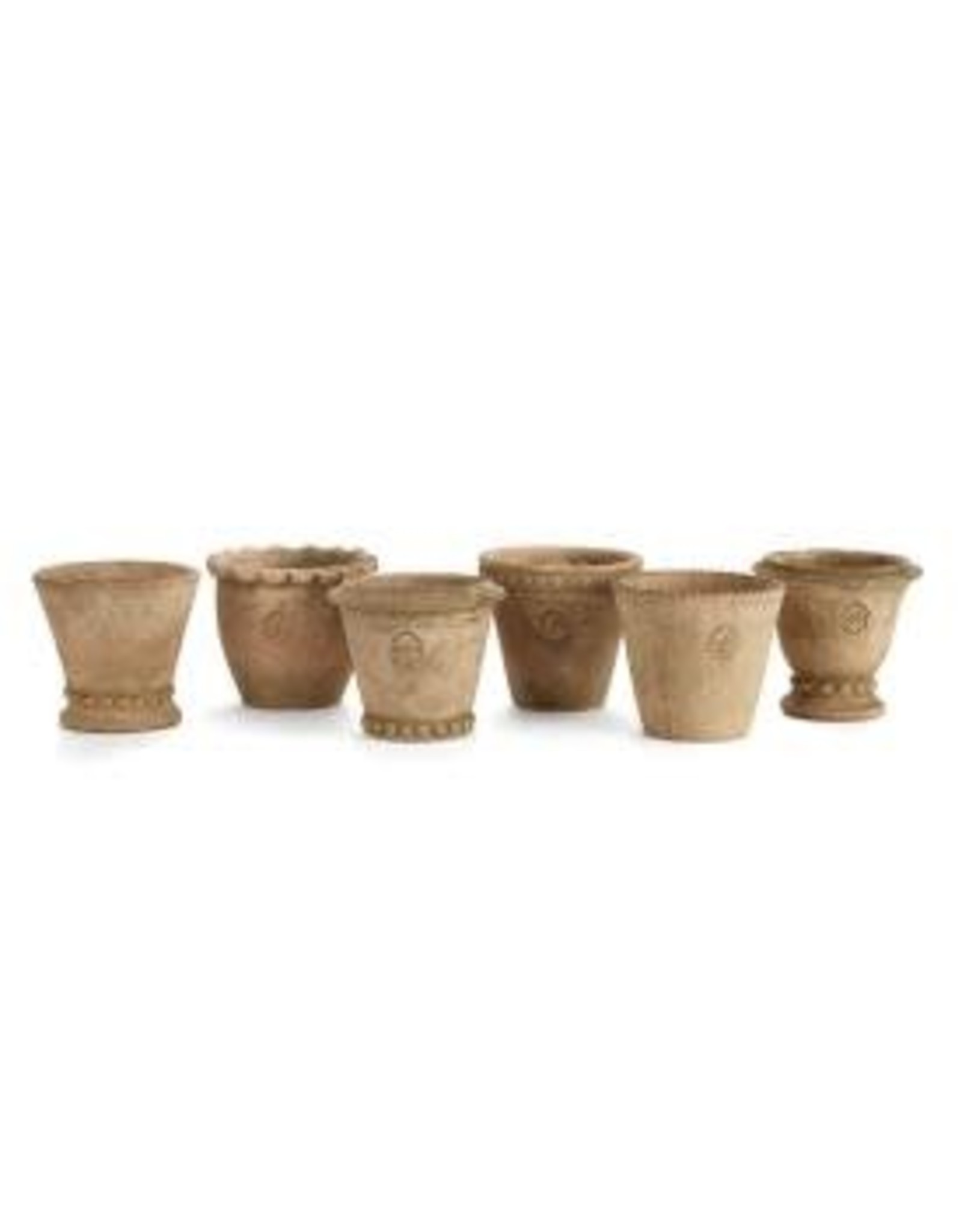 Napa Home and Garden Napa Wakefield Handmade Mini Pots ST/6