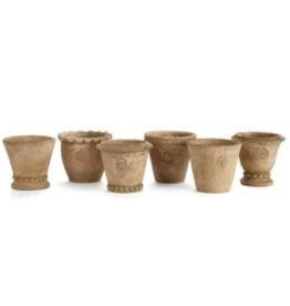 Napa Home and Garden WH Mini Pots ST/6
