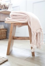 Pom Pom at home Trestles- Oversized Throw 60x90- Blush