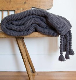 Pom Pom at home Trestles- Oversized Throw 60x90- Midnight