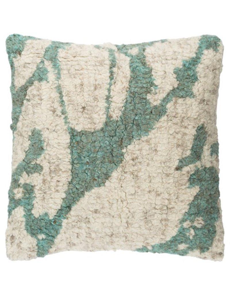 Surya Primal  20X20 Pillow-Cream