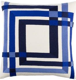 Surya Color Form Down Pillow-Blue-20X20