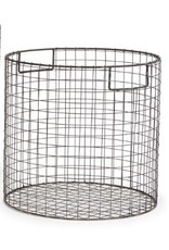 Napa Home and Garden Paris Round Wire Basket-Large