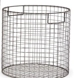 Napa Home and Garden Paris Round Wire Basket-Large