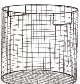 Napa Home and Garden Paris Round Wire basket-Medium