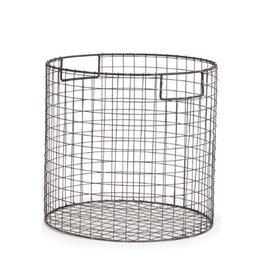 Napa Home and Garden Paris Round Wire basket-Medium