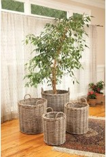 Napa Home and Garden Normandy Round Basket- Large